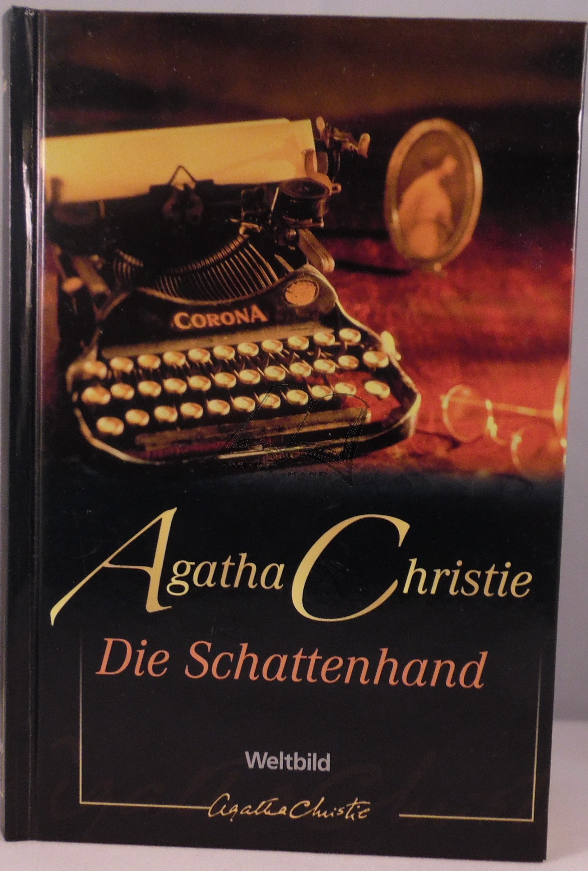 agatha christie die schattenhand. Black Bedroom Furniture Sets. Home Design Ideas